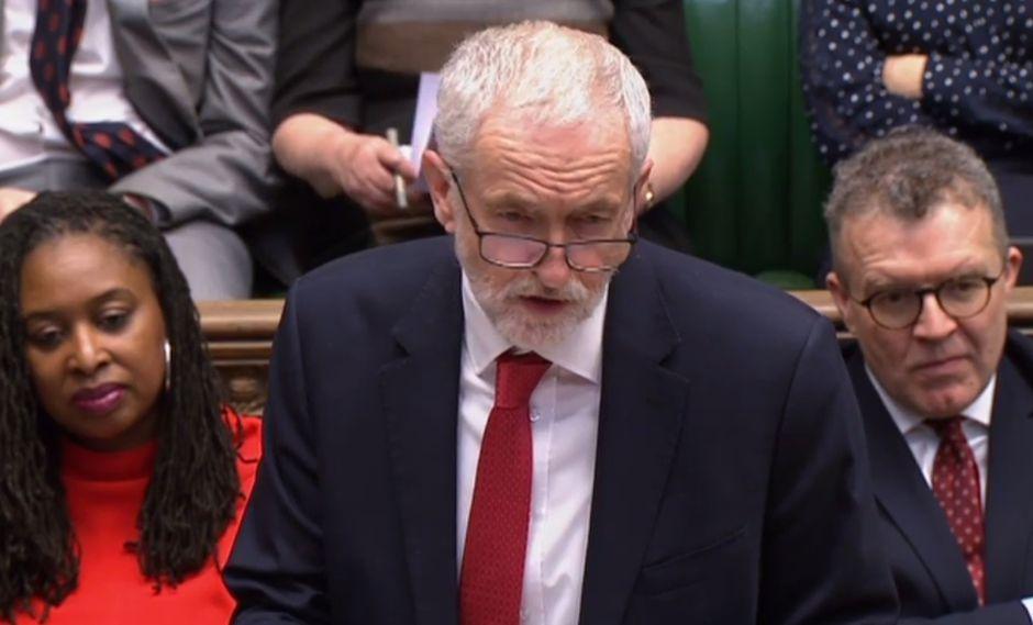 """Jeremy Corbyn dice que la reunión con Theresa May fue """"útil"""" pero """"no concluyente"""". Foto: AFP"""