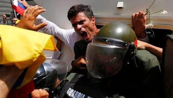 Leopoldo López cumple 2 meses preso por protestar contra Maduro