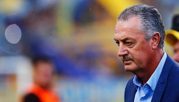 Gustavo Alfaro llegó a Boca a inicios de año en reemplazo del 'Mellizo'. (Getty Images)