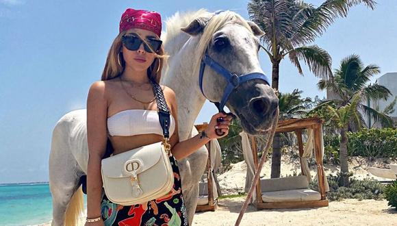 Danna Paola es una de las cantantes que más tendencia genera en redes sociales. (Instagram: @dannapaola).