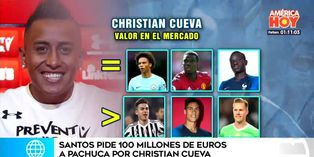 Santos convierte a Christian Cueva en el peruano más caro de la historia