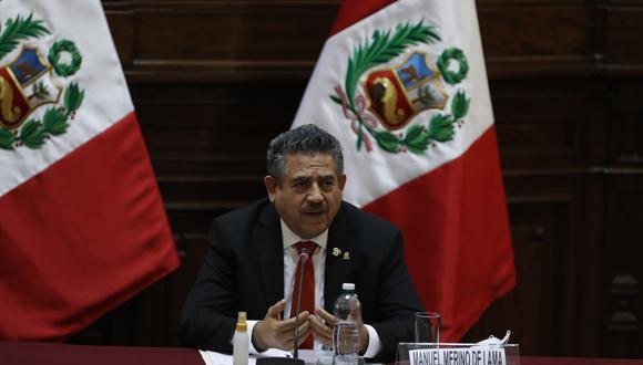 Manuel Merino respondió sobre la denuncia en su contra presentada ante la Comisión de Ética. (Foto: GEC)