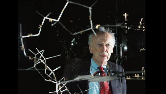 James Watson es famoso por ser uno de los cuatro descubridores de la estructura molecular del ADN en 1953.
