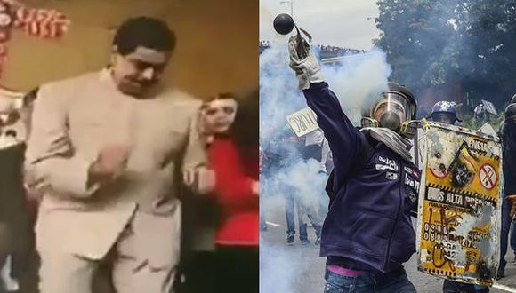 Maduro bailaba mientras opositores protestaban [VIDEO]