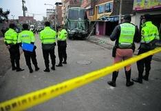 Director de Tránsito de la Policía Nacional pide declarar en emergencia la circulación de vehículos en la ciudad de Lima