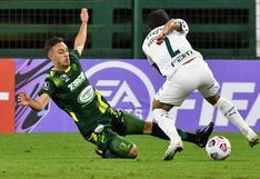 Defensa 1-2 Palmeiras: equipo argentino cayó por Copa Libertadores