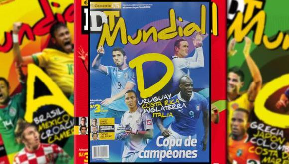 Revista DT Mundial: este jueves el Grupo D de Brasil 2014