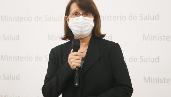 La ministra señala que no se está repartiendo la azitromicina ni la hidroxicloroquina a través de los kits y que expertos vinculados al tratamiento vienen trabajando en acciones en beneficio de pacientes con COVID-19..(Foto: archivo/ Presidencia del Perú)