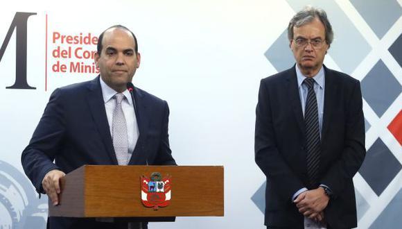 Carlos Basombrío recibió el respaldo del Consejo de Ministros