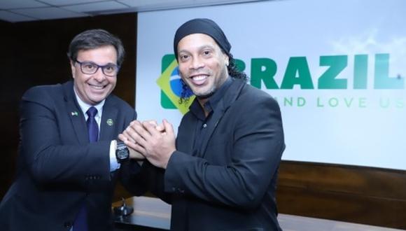 Ronaldinho participará en diversas actividades con esta nueva responsabilidad. (Foto: Embratur)