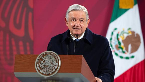 El presidente de México, Andrés Manuel López Obrador, en una imagen del 15 de diciembre del 2020. (AFP).