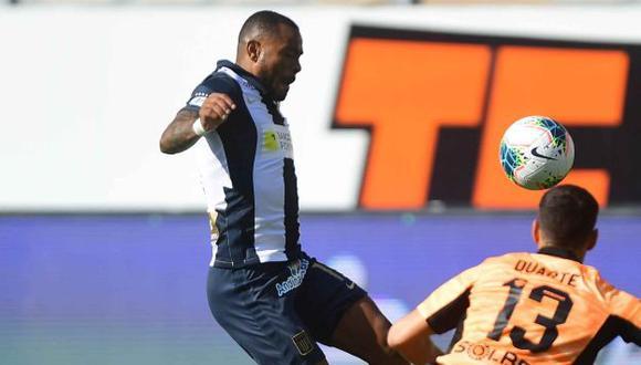 Wilmer Aguirre tiene un gol en seis partidos con camiseta de Alianza Lima este 2021. (Foto: Alianza Lima)