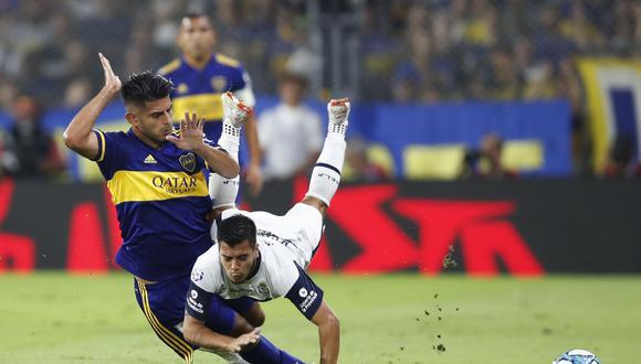 Carlos Zambrano llegó a Boca a inicios del 2020. (Foto: AFP)
