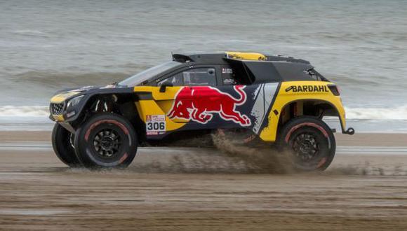 Loeb acabó segundo en el Dakar 2017. (Foto: Red Bull)