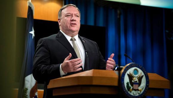 El secretario de Estado norteamericano, Mike Pompeo. (Foto: Reuters)