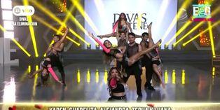 """Divas 2020: 'combatientes' bailaron """"Tusa"""" en versión cumbia y sorprendieron al jurado"""