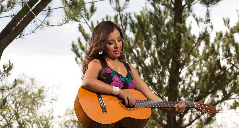 Luz Merly Santa Cruz, la representante peruana en Viña del Mar 2020. (Foto: Difusión)
