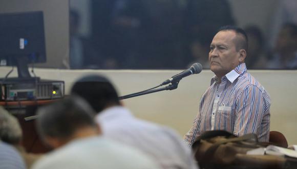 Demetrio Chávez Peñaherrera 'Vaticano' (Foto: Dante Piaggio/ El Comercio)