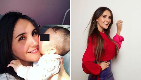 Dulce María dio detalles del nacimiento de su bebe, así como de su maternidad. (Foto: Instagram @dulcemaria).