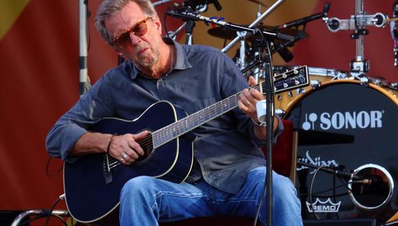 Eric Clapton anunció una nueva gira con 15 fechas en Europa, aunque se espera que también toque en Londres, Tokio o Nueva York.   (Foto: AP)
