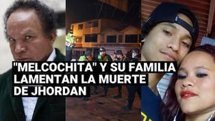 "La familia de ""Melcochita"" se pronuncia sobre la muerte de Jhordan tras accidente en moto"