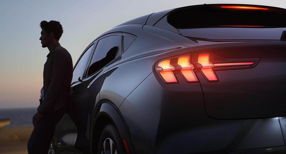 El Mustang Mach-E estará disponible con opciones de baterías estándar y de autonomía extendida. (Foto: Difusión)