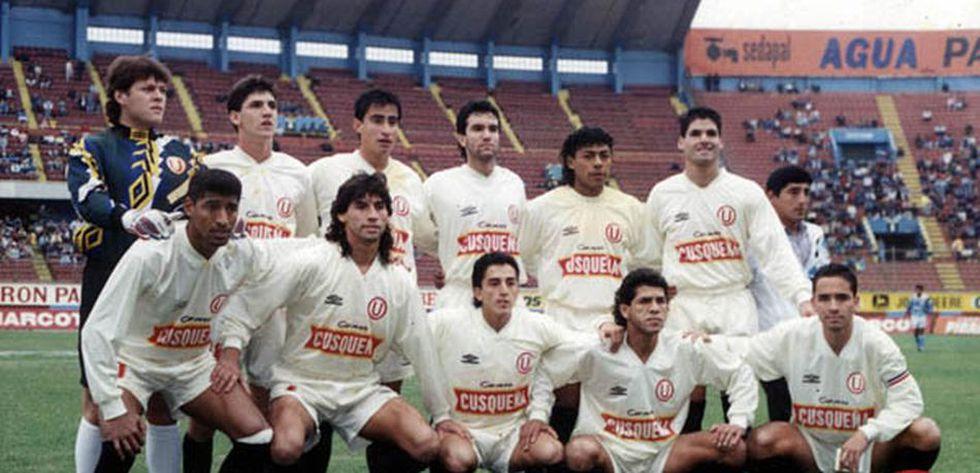 Plantel de Universitario de Deportes 1995. (Foto: Universitario)