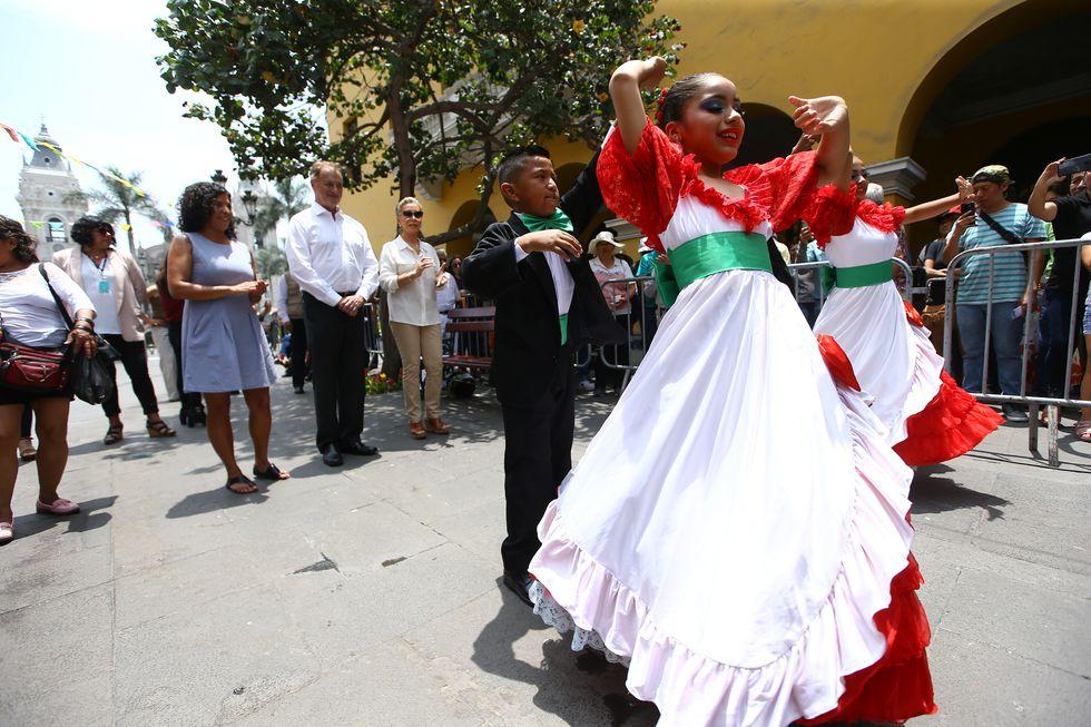 Alcalde Jorge Muñoz anunció las actividades que se realizarán esta semana por el 485 aniversario de Lima. (Foto: Fernando Sangama)