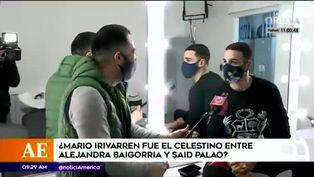 Mario Irivarren descarta haber sido 'cupido' de Alejandra Baigorria y Said Palao