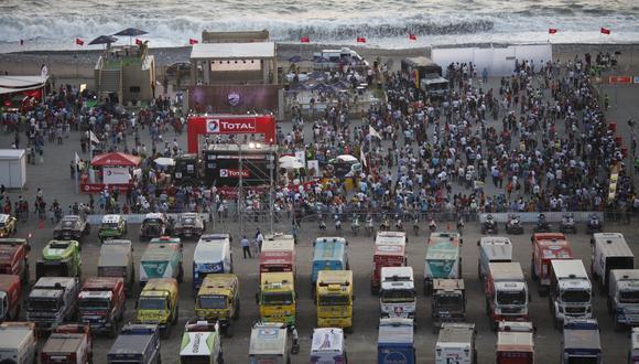 El Village Dakar del 2013 fue en la Costa Verde de Magdalena. (Foto: El Comercio)