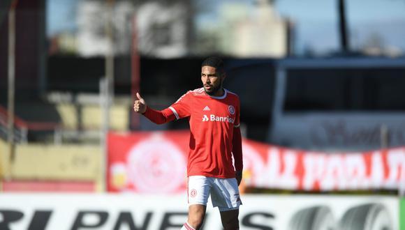 Paolo Guerrero convirtió un doblete con Inter de Porto Alegre   Foto: Internacional