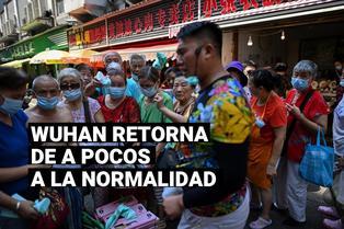 Wuhan retorna a la normalidad y sus habitantes dejan de usar mascarillas