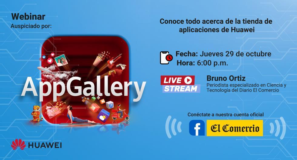 AppGalley es la tienda de aplicaciones de Huawei para dispositivos de la marca. (Difusión)