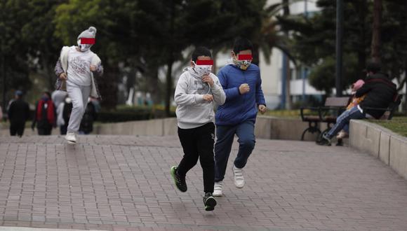 Arequipa: Geresa reporta que 2058 menores de 18 años se infectaron de COVID-19 (Foto referencial: GEC)
