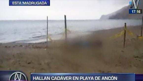 Ancón: desapareció en Navidad y su cuerpo apareció en una playa