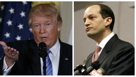 Donald Trump nomina al primer hispano de su gabinete
