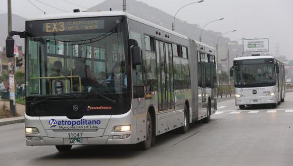 Metropolitano en Evitamiento no anularía nuevo corredor azul