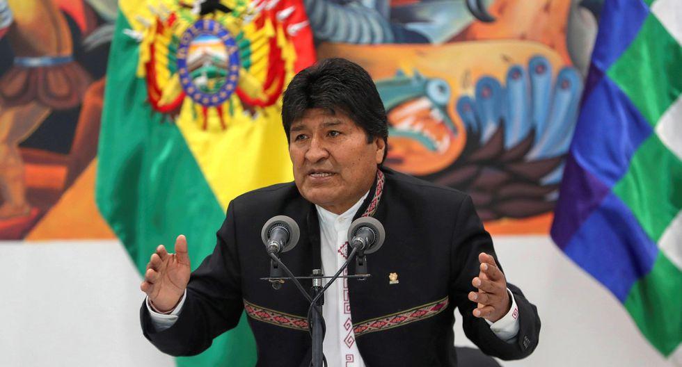 Evo Morales inició su mandato presidencial en el 2006. (EFE/Martin Alipaz).