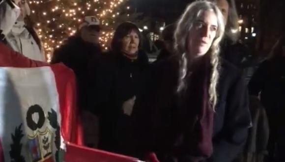 Patti Smith. (Foto: Captura de pantalla Facebook)