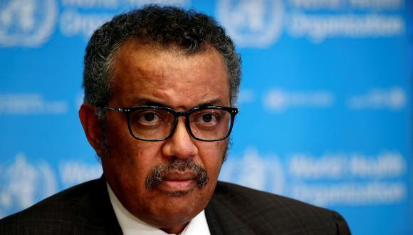 Coronavirus | Tedros Adhanom Ghebreyesus, director general de la OMS. (REUTERS/Denis Balibouse/File Photo).