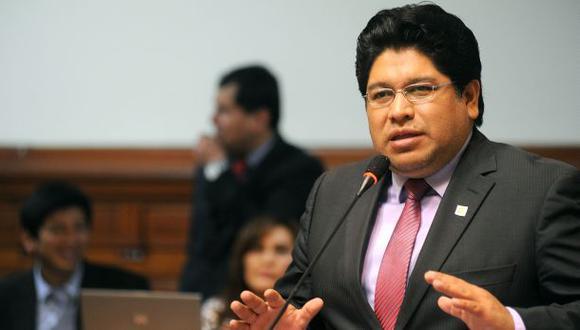Vocero de Perú Posible dijo que respaldarán una tercera lista para la elección de este fin de semana en el Congreso. (Foto: Congreso de la República)