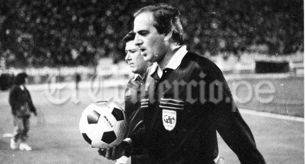 Loustau, el argentino que arbitró un clásico peruano en 1991. (Foto: Archivo de El Comercio)