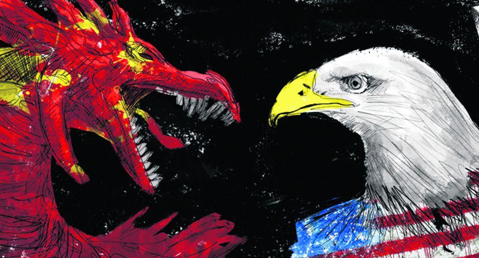 """""""Mucho mejor fuera [...] que las dos potencias logren un acuerdo que recoja las expectativas más importantes de cada una"""". (Ilustración: Giovanni Tazza)"""
