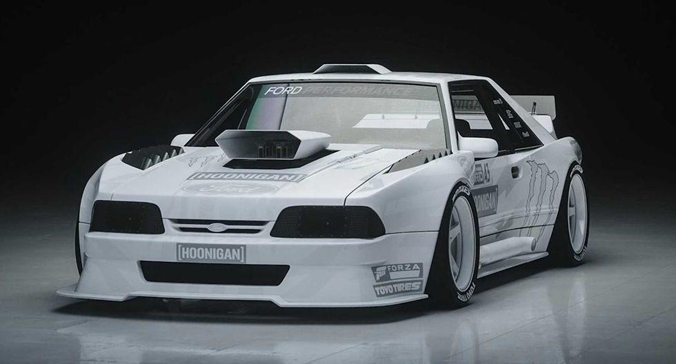 El próximo deportivo de Ken Block tomará como base al Ford Mustang modelo Fox-Body, un deportivo de aire noventero. (Fotos: Ken Block).