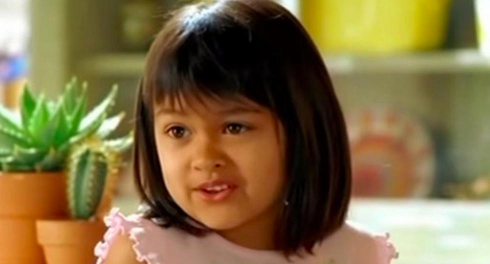 La frase que se popularizó en su aparición en un comercial cuando era niña la convirtió en un fenómeno viral en Internet. (Foto: pedestrian.tv en Facebook)