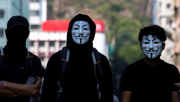 Hong Kong prohibirá el uso de máscaras en las manifestaciones. (REUTERS/Athit Perawongmetha).