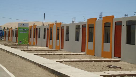 Las viviendas sociales antes solo tenían una habitación. (Foto: Andina)