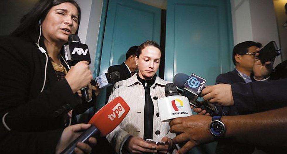 Fiscalía de la Nación halló documentación vinculada a Alex Peña y a la Municipalidad de la Victoria durante allanamiento a departamento de Luciana León