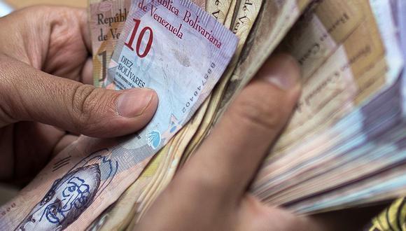 Hoy el precio del dólar se cotizaba en 1′897.012,81 bolívares soberanos en Venezuela. (Foto: AFP)