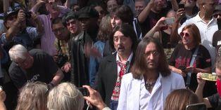 Fans de los Beatles celebran el 50º aniversario de la foto de Abbey Road